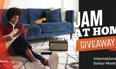 Enter Positive Grid's Jam at Home Giveaway
